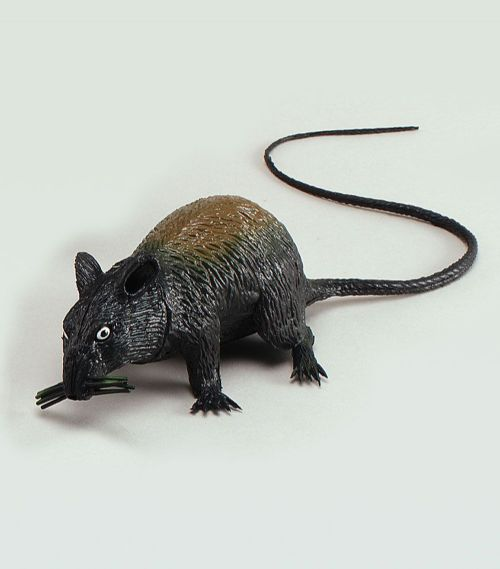 Prop Rat Squeaking Large Rodent Mouse Fancy Dress Party